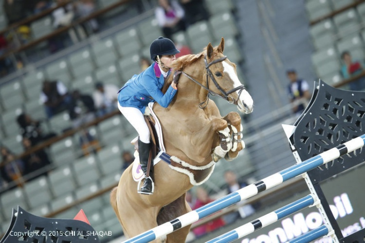 Luciana Diniz & Fit For Fun CHI Al Shaqab 2015