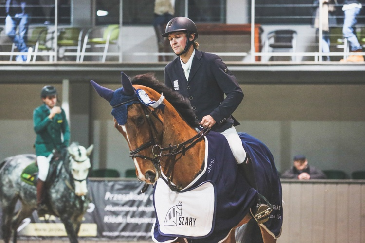 Cracovia Szary Equestrian Show 2016 Michał Kaźmierczak & Helia van de Heihoek