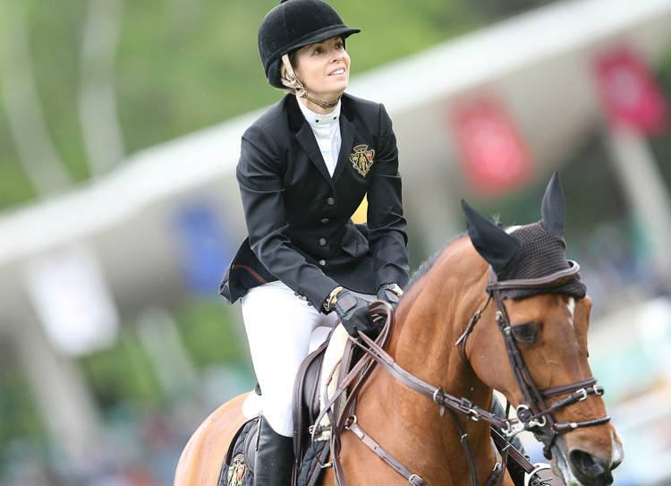 LGCT Madryt 2015 Edwina Tops Alexander - Heidi du Ruisseau Z