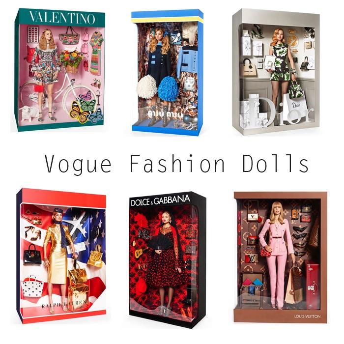 Fashion Dolls Elisabeth Erm and Magdalena Frackowiak, sesja Giampaolo Sgura dla Vogue Paris 2015