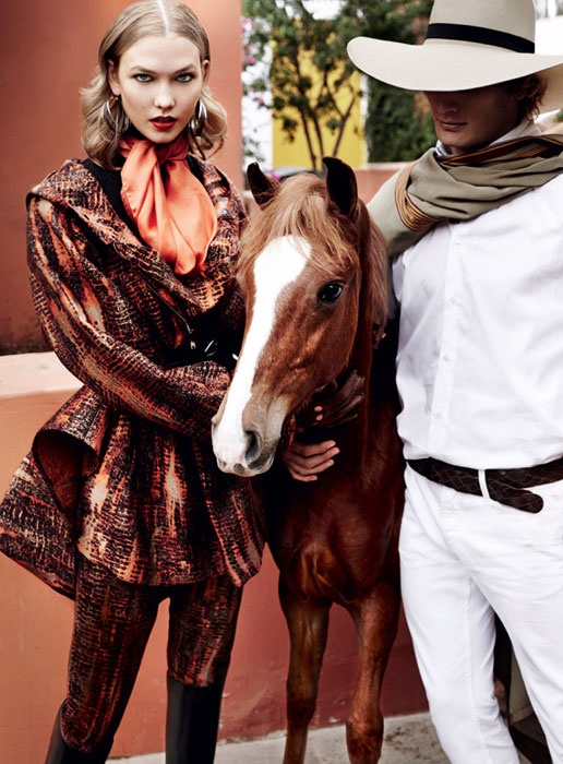 Karlie Kloss Takes Fall's Best Equestrian Fashions on a Trip to Peru EQUISTA