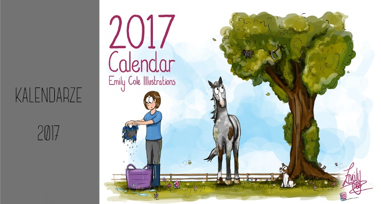 Emily Cole Illustrations Calendar 2017