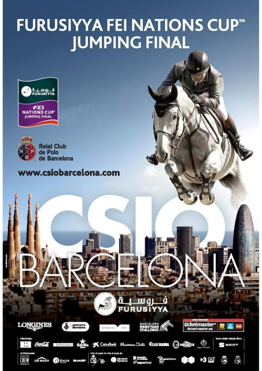 CSIO5* Barcelona Furusiyya FEI Nations Cup poster