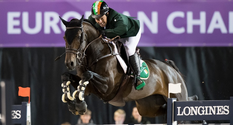 Cian O'Connor & Good Luck fot. Richard Juilliart/FEI
