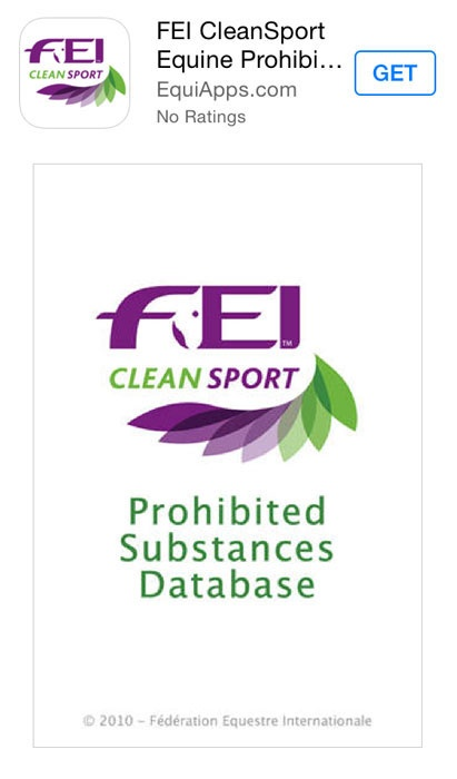 FEI CleanSport application