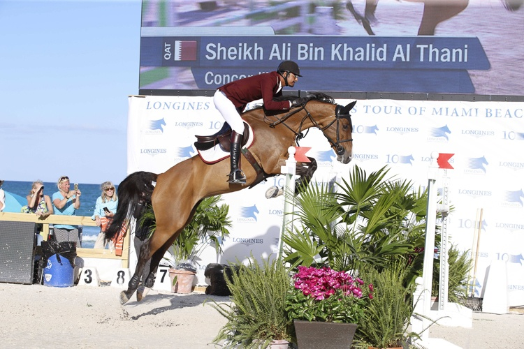 Sheikh Ali Bin Khalid Al Thani & Concordija