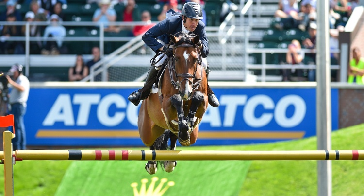 Andrew Kocher (USA) & Carollo, fot. Spruce Meadows Media/Mike Sturk