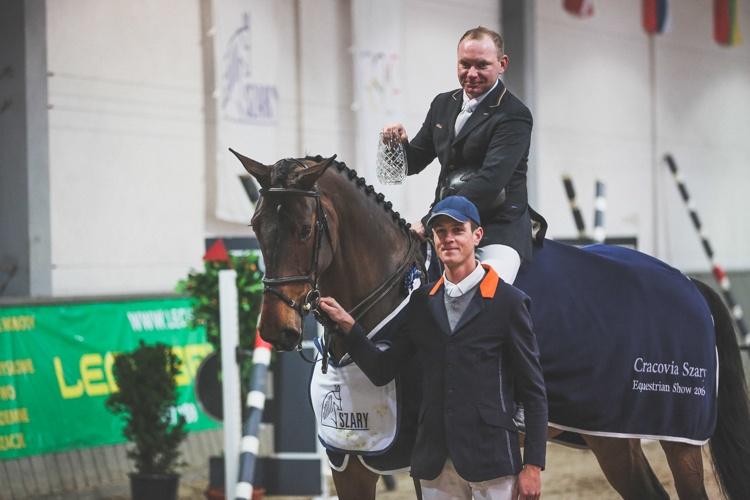 Cracovia Szary Equestrian Show 2016 Łukasz Appel & Gibanta