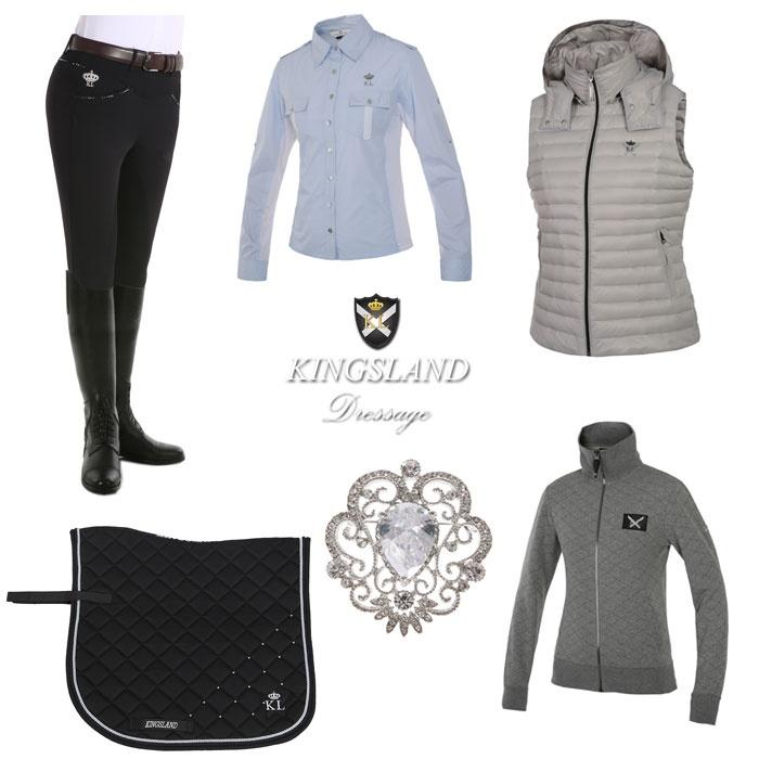 Kingsland spring summer 2015 dressage collection set