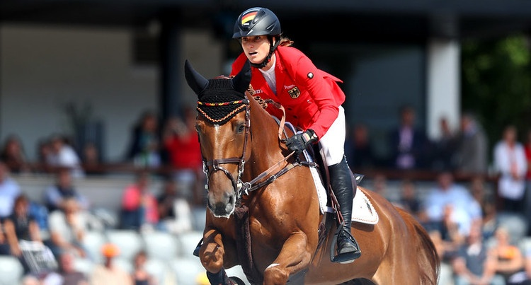 Simone Blum (GER) & DSP Alice (Askari 173 x Landrebell), fot. Mouhtaropoulos/Getty Images for FEI
