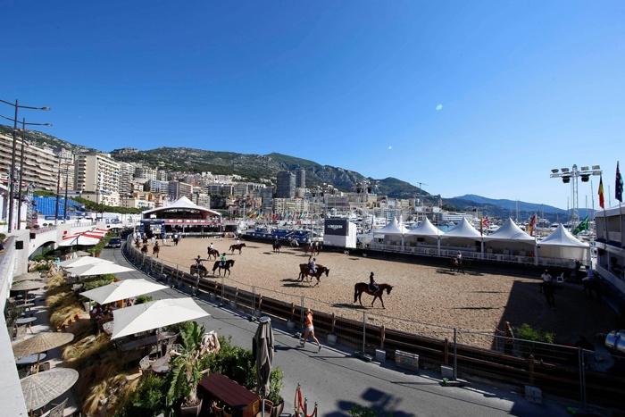 Port d'Hercule Monaco fot. Stefano Grasso/LGCT