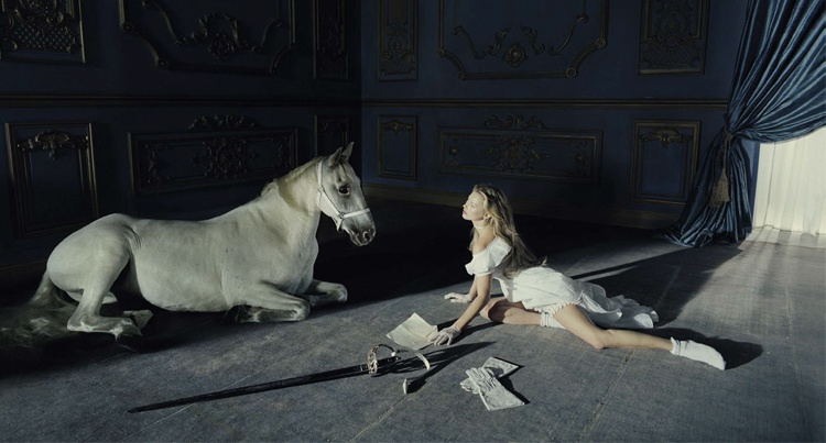 Fashion: Kate Moss by Tim Walker for Vogue Italia www.equista.pl