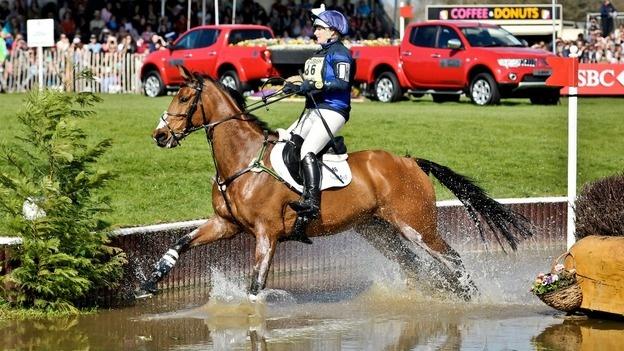 Zara Phillips & High Kingdom, Badminton Horse Trials, fot: Ben Birchall/PA Wire