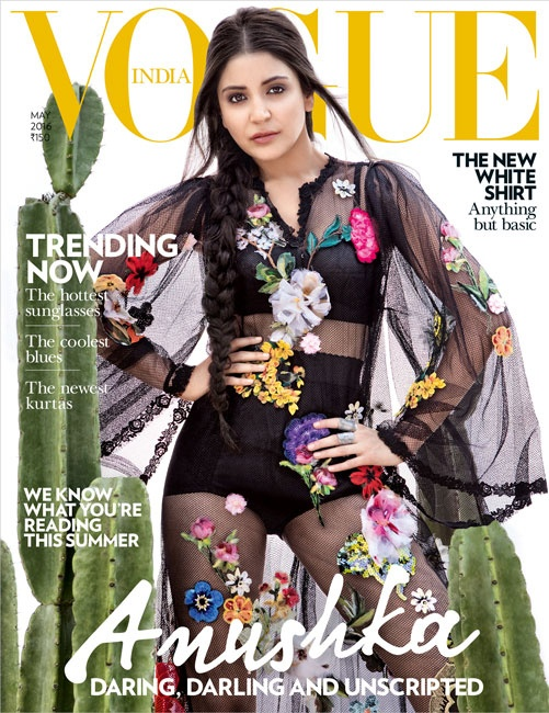 Fashion: Anushka Sharma for Vogue India 2016 cover