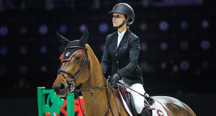 Georgina Bloomberg (USA) & Quibelle, fot Dava Palej Timeless Photography
