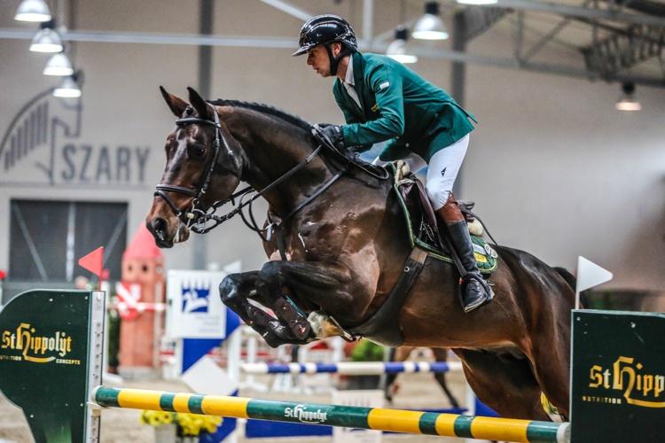 Cracovia Szary Equestrian Show 2016 Mciwoj Kiecoń & Digisport Contendrix