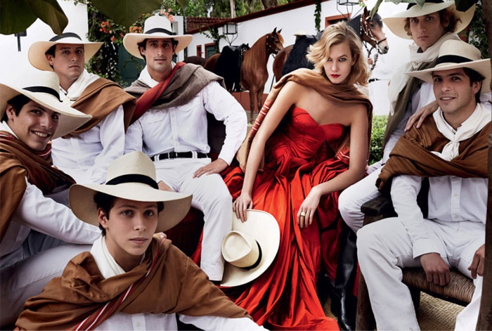 EQUISTA Karlie Kloss Takes Fall's Best Equestrian Fashions on a Trip to Peru