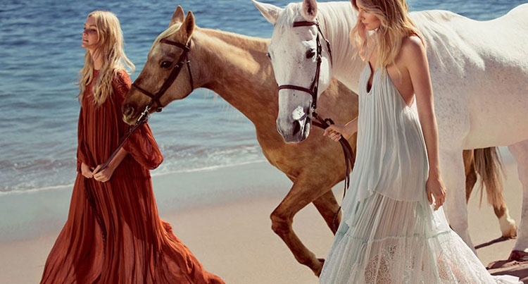 Chloé spring/summer 2015 campaign