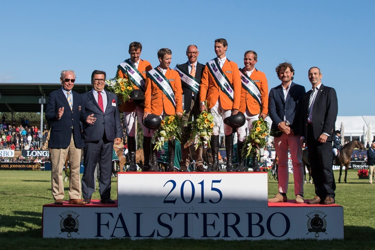 The Netherlands win NC in Falsterbo 2015