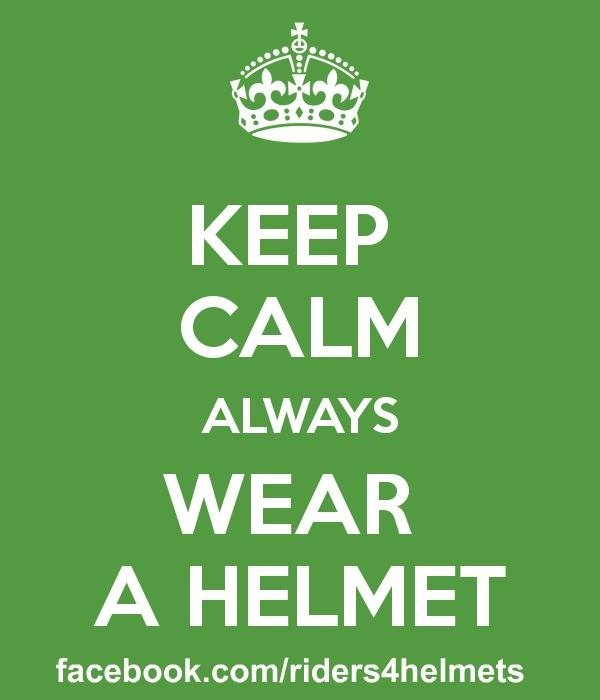 International Helmet Awareness Day 2015