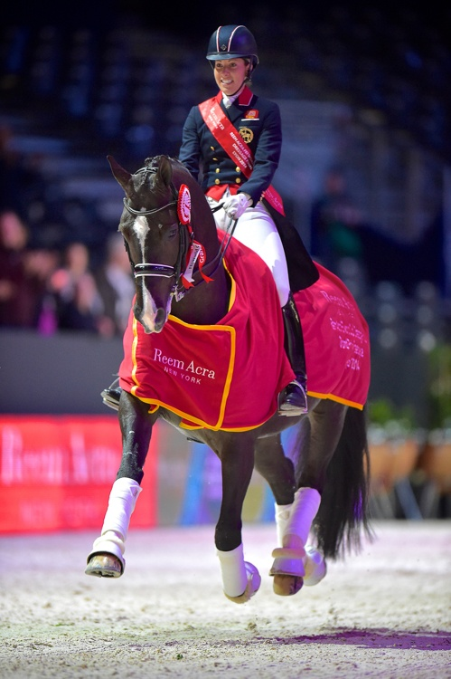 Charlotte Dujardin & Valegro, fot. Dirk Caremans
