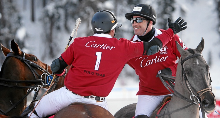 Snow Polo World Cup 2015 St Moritz fot. Andy Mettler